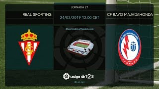 Real Sporting - CF Rayo MD27 D1200
