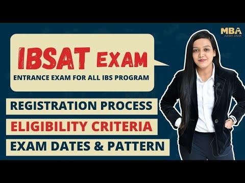 IBSAT Exam 2020-21 || Registration & Exam Dates || Eligibility || Syllabus & Pattern || Cut Off 2020