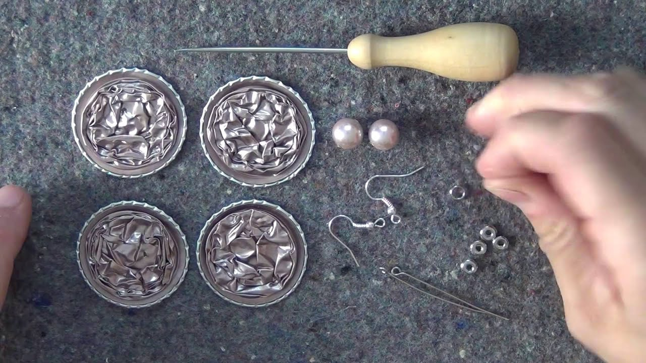Famoso Tutorial orecchini con capsule Nespresso /DIY: Earrings with  HI81