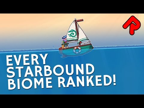Every Starbound Biome Ranked from Best to Worst