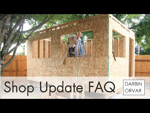 How Much Did it Cost to Build the Shop? - Shop Update