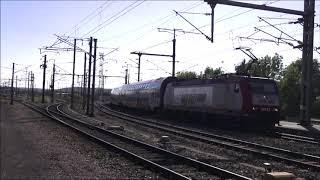 Eisenbahn in Belgien u. Luxembourg mit dabei 4003 u. 3012 und noch mehr