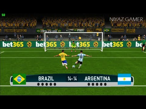 BRAZIL vs ARGENTINA | Penalty Shootout | PES 2017 Gameplay