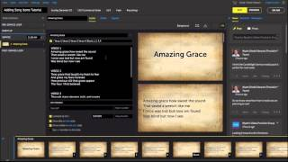 Adding Worship Song Lyrics to Slides in Proclaim Church Presentation Software Mp3