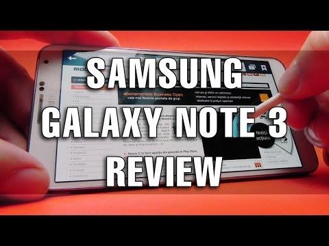 Samsung Galaxy Note 3 Review în Limba Română - Mobilissimo.ro