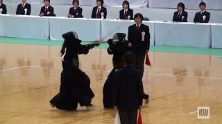56th All Japan Women's Kendo Championships - SF 2