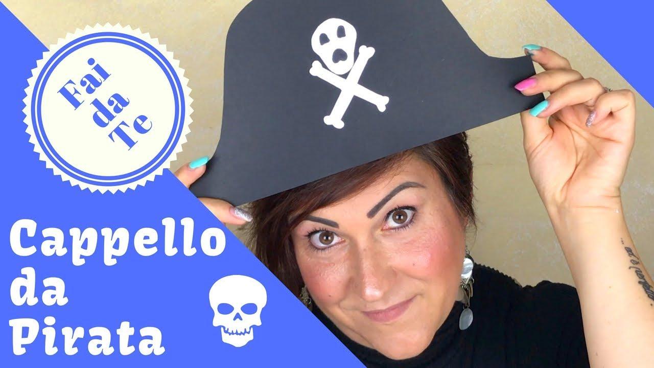 posto migliore a prezzi ragionevoli soddisfare ☠️Cappello da Pirata Fai da Te ☠️ - YouTube