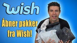 Åbner pakker fra Wish!