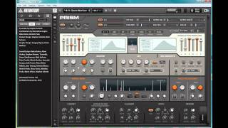 Review: Prism (a Reaktor 5.5 hosted synth)