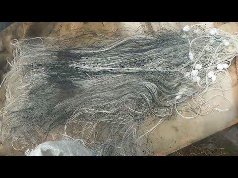 Рыболовные сети, Что с ними делать после рыбалки