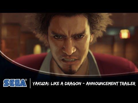 Yakuza Like A Dragon Announcement Trailer Uk Pegi Youtube