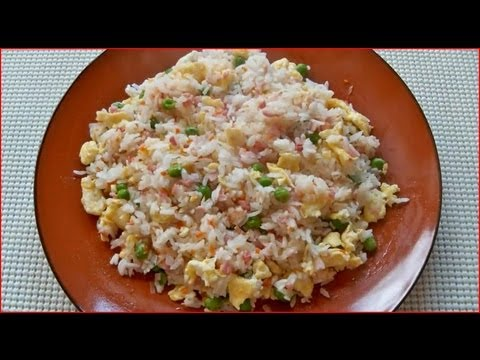 How to make yangzhou fried rice chow rice youtube how to make yangzhou fried rice chow rice ccuart Images