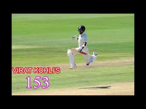 Virat Kohli blastered all South African Bowlers, scored 153