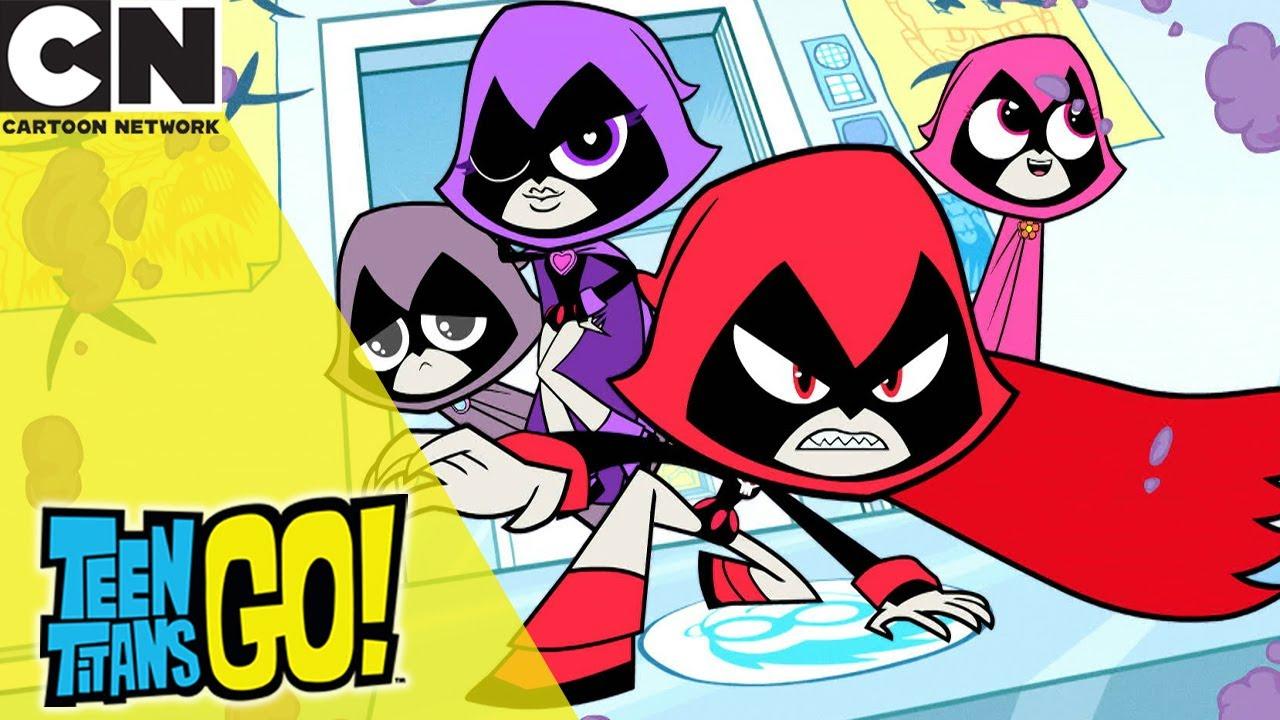Download Teen Titans Go! | Capture The Ravens | Cartoon Network UK 🇬🇧