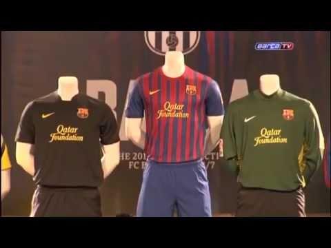 sale retailer d99d8 cb0f1 FC Barcelona 2011/2012 HOME&AWAY Kit/Shirt/Jersey QATAR Foundation *NEW*