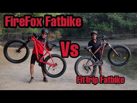 FIREFOX Fatbike vs Fittrip Marine Fatbike  🔥| Best Fatbike under 25k??