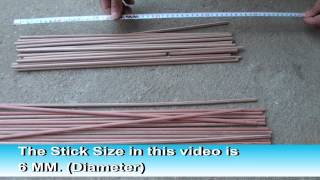 Wooden Bbq Stick Making Machine (how To Make Bbq Sticks) Video