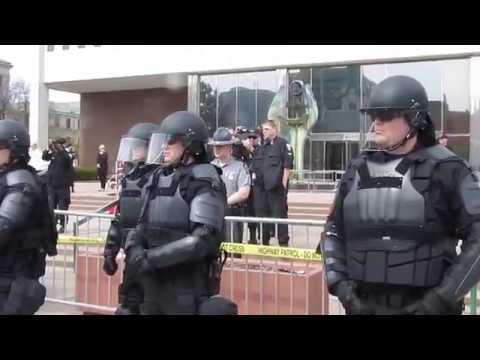 NSM Rally angers the crowd Toledo Ohio 2015