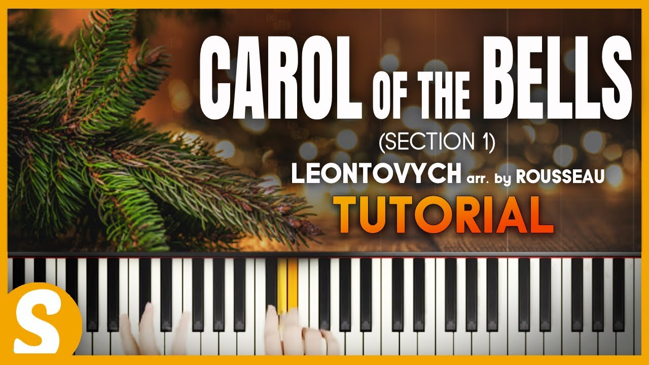 """Download How to play """"CAROL OF THE BELLS"""" Section 1 by Leontovych (arr. by Rousseau) 