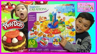 Play-Doh Deluxe Dough Food Set How To Make Dough Food Kids Toys Channel Play Doh Videos @DaeleneFP