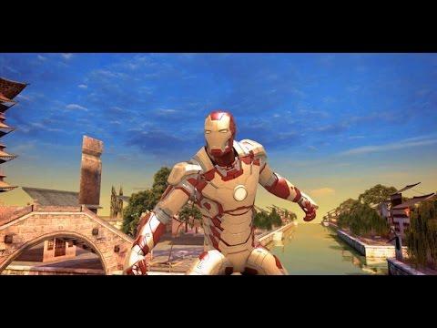 Игра Лего железный человек 3 Lego Iron Man 3 играть онлайн