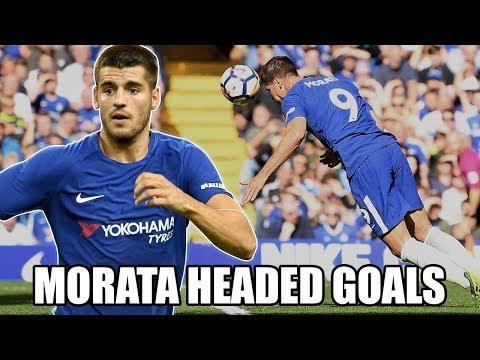Morata the Headed Goal King FUNNY