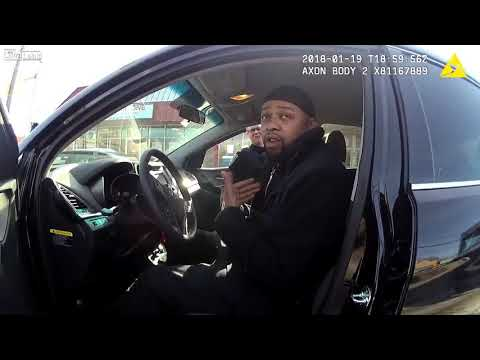 Bodycam Video - Drunk Man Arrested After Falling Asleep In Car At Intersection [DAY&NIGHT-TV)