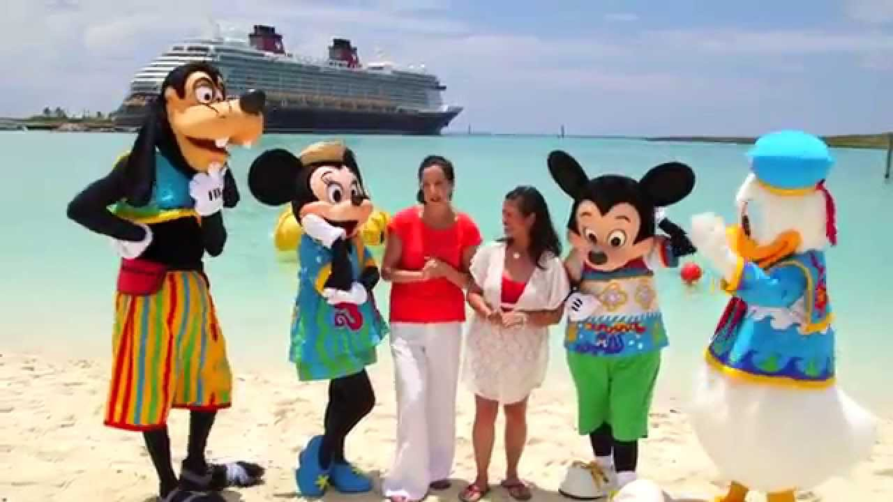 Disney Cruise Line | Ginger, Gunny & The Three Bears |Castaway Cay Disney Cruise Line