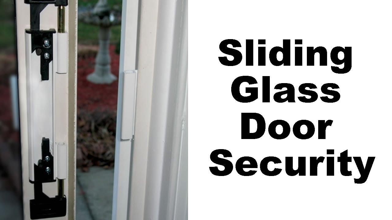 Sliding Glass Door Security Youtube