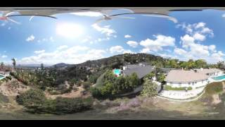 samsung gear 360 on phantom 4 drone first time ever this is me