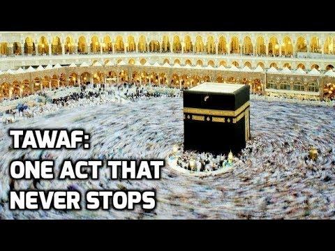 Hajj 2017 Tawaf: One Act that NEVER stops Makkah Live