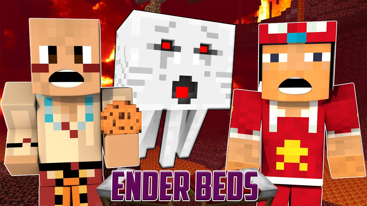 Minecraft Landscaping Tools : Minecraft xbox ender beds gardening tools vs ghasts