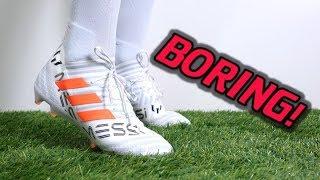MESSI'S CLEATS ARE BORING! - Adidas Nemeziz Messi 17.1 (Pyro Storm) - Review + On Feet