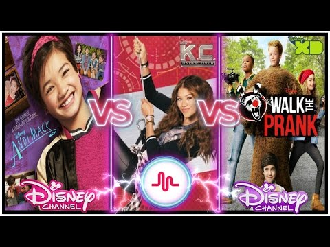 Andi Mack , KC Undercover , Walk The Prank Musical.ly Battle | New Disney Channel Stars Musically