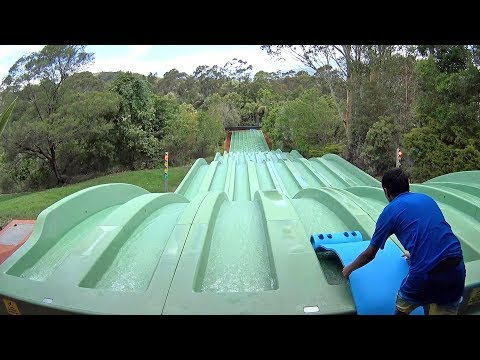 Surf Race Water Slide at Jamberoo Action Park