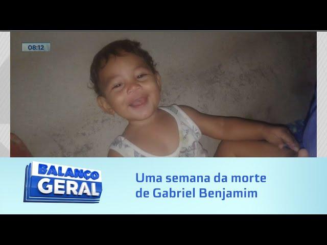 Bebê levado por enxurrada: uma semana da morte de Gabriel Benjamim; pais relatam sofrimento