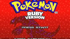 Pokémon Ruby (GBA) - Longplay
