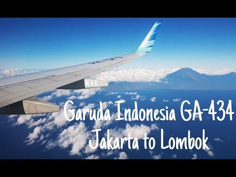 My Flight Experience #10 | Garuda Indonesia - Jakarta (CGK) to Lombok (LOP) GA434