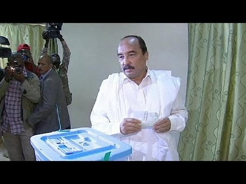 Mauritanian president reelected with overwhelming majority