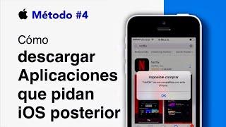Como Descargar Apps Que Pidan Un iOS Superior Al Nuestro Con Jailbreak |iPhone/iPad/iPod| LimonTouch
