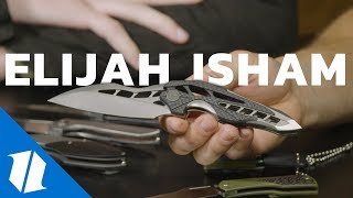 The Coolest Knife Designs from Elijah Isham | Knife Banter Ep. 56