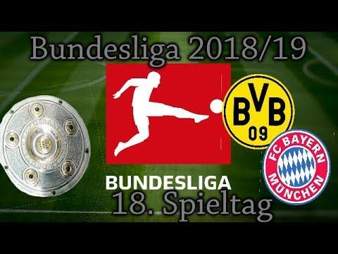 Bundesliga Spieltag 18