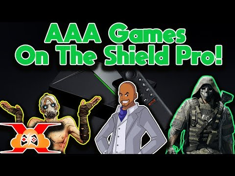 2019 Nvidia Shield Tv Pro Geforce Now Overview! (Play AAA Titles On The Shield Pro TV)