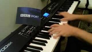 BBC TV Grandstand Theme on Piano