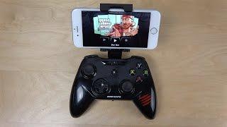GTA San Andreas iPhone 6 Mad Catz C.T.R.L.i Gamepad - Gameplay (4K)