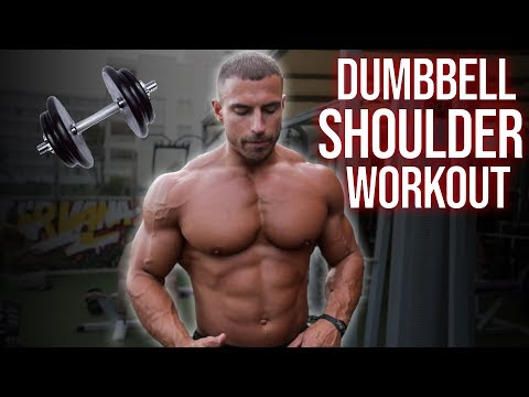 Shoulder Routine Using ONLY Dumbbells | Home Workout