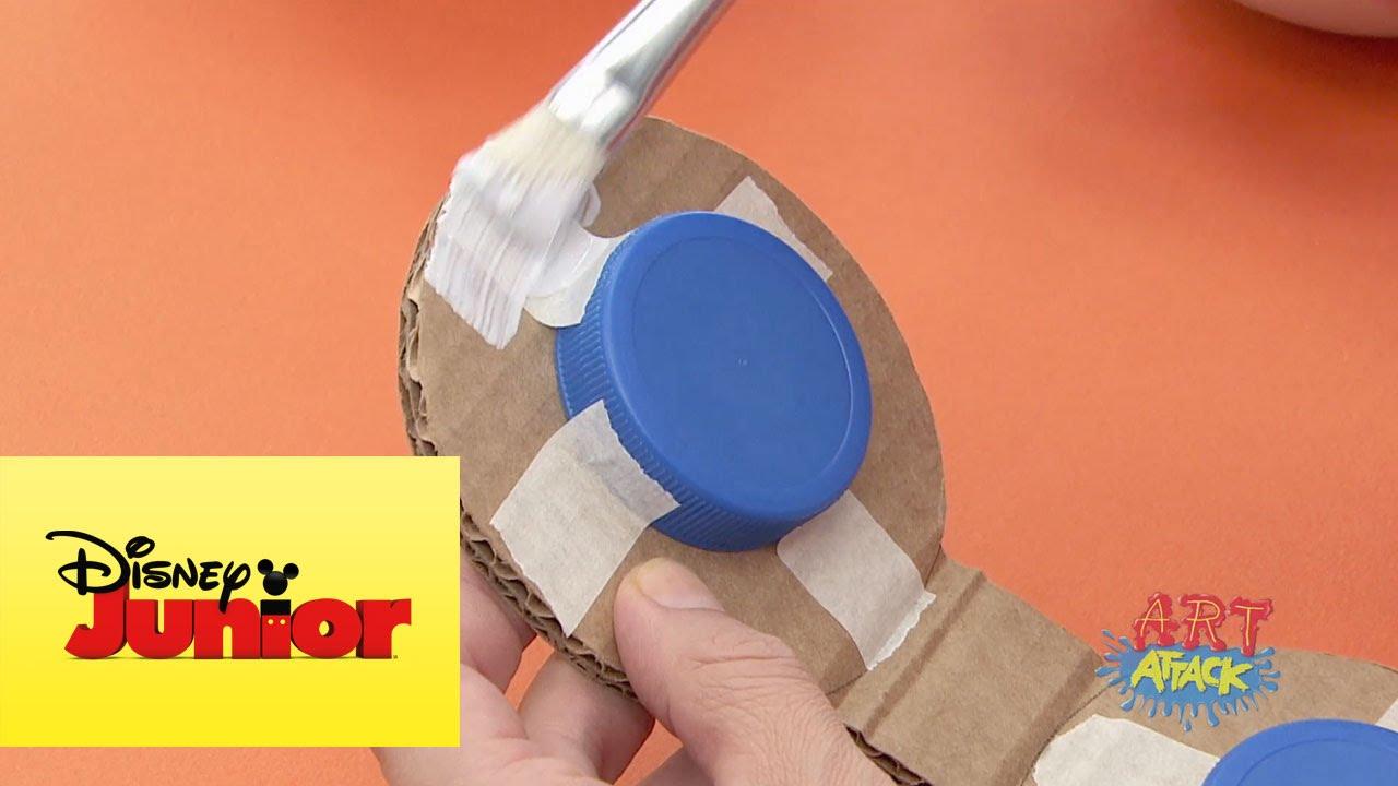 Instrumentos musicales art attack youtube - Trabajos caseros para hacer en casa ...