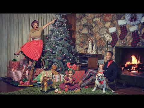 John Legend - What Christmas Means To Me (Official Yule Log)