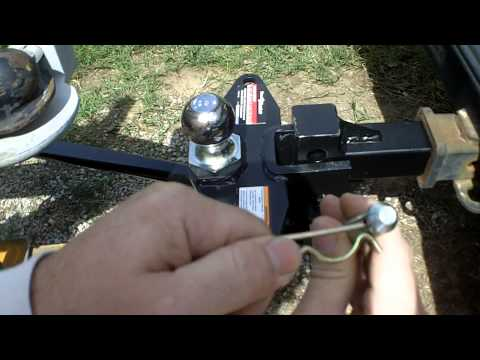Harbor Freight 10k Weight-Distributing Hitch Review Item 61720