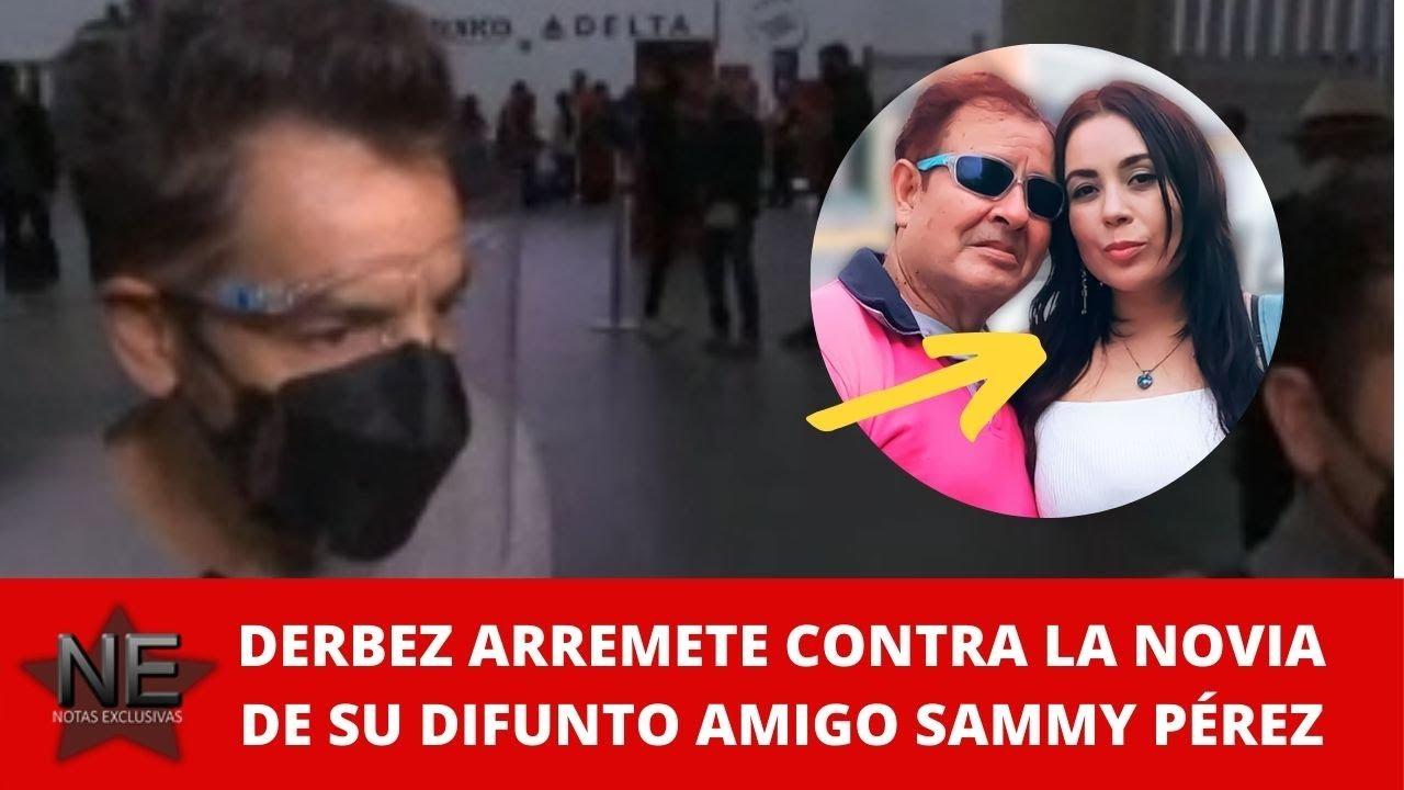 ¡Lo deja calladito! Novia de Sammy Pérez pone en su lugar a Eugenio Derbez